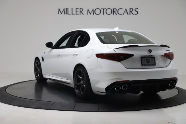 New 2019 Alfa Romeo Giulia Quadrifoglio for sale Sold at Rolls-Royce Motor Cars Greenwich in Greenwich CT 06830 5