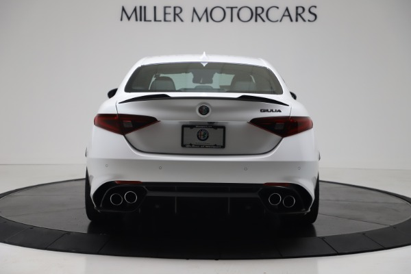 New 2019 Alfa Romeo Giulia Quadrifoglio for sale Sold at Rolls-Royce Motor Cars Greenwich in Greenwich CT 06830 6