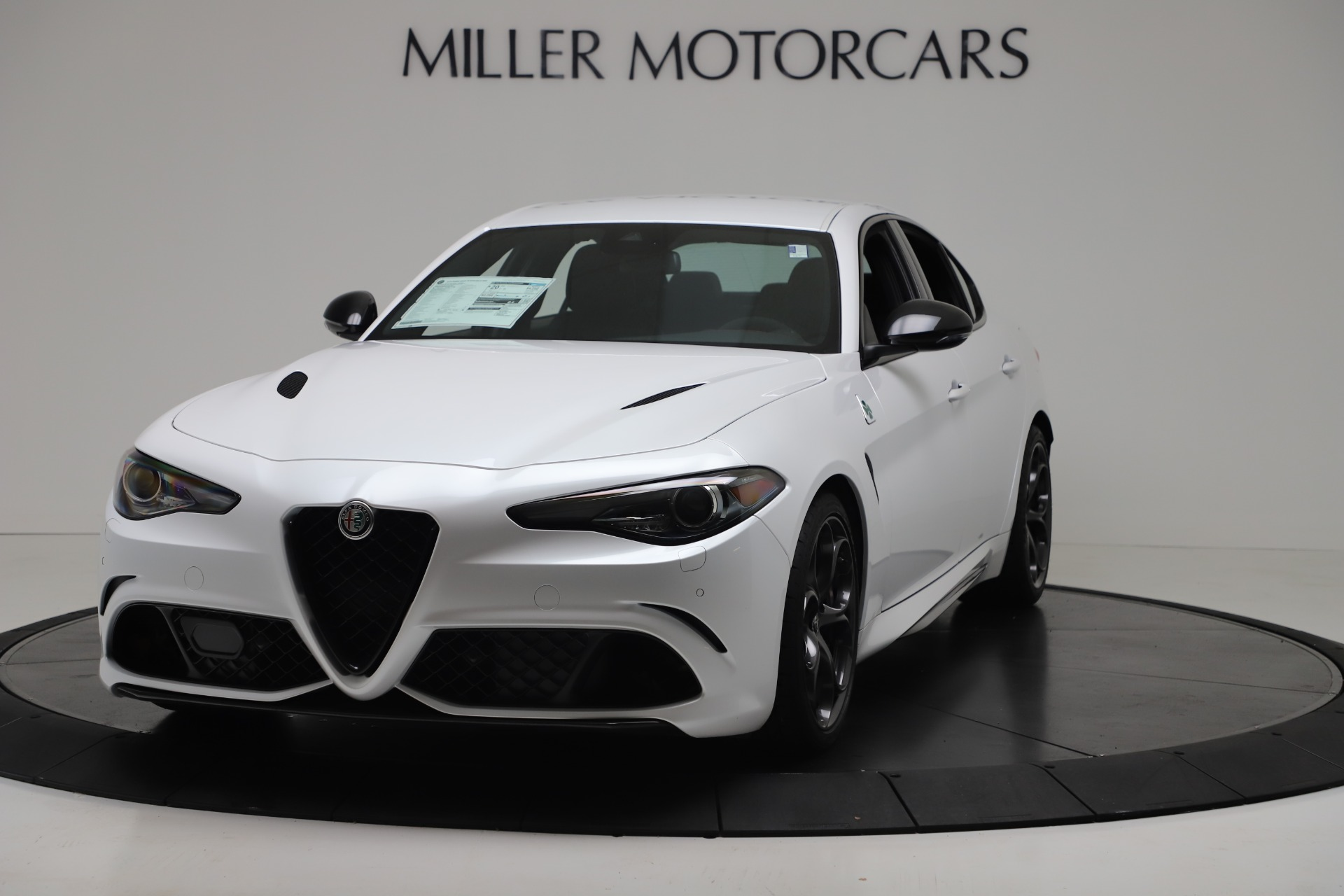 New 2019 Alfa Romeo Giulia Quadrifoglio for sale Sold at Rolls-Royce Motor Cars Greenwich in Greenwich CT 06830 1
