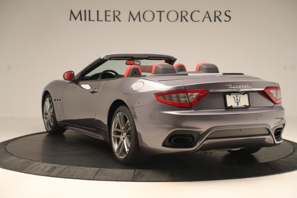 New 2018 Maserati GranTurismo Sport Convertible for sale Sold at Rolls-Royce Motor Cars Greenwich in Greenwich CT 06830 5