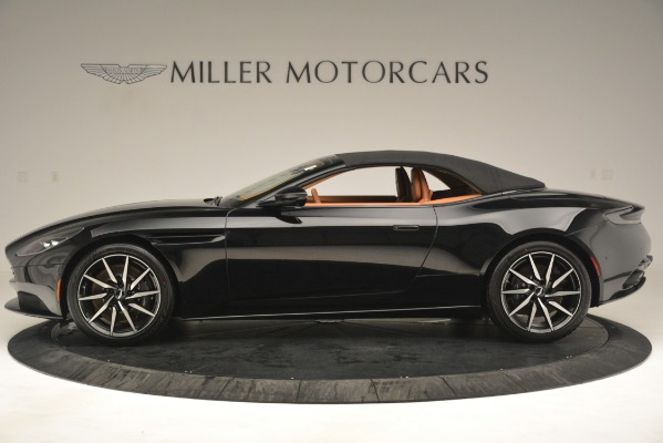 New 2019 Aston Martin DB11 V8 Convertible for sale Sold at Rolls-Royce Motor Cars Greenwich in Greenwich CT 06830 14