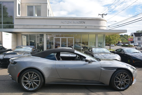 New 2019 Aston Martin DB11 V8 Convertible for sale Sold at Rolls-Royce Motor Cars Greenwich in Greenwich CT 06830 27