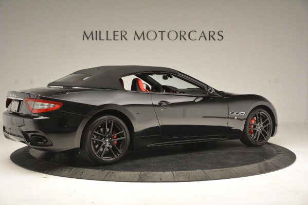 New 2018 Maserati GranTurismo Sport Convertible for sale Sold at Rolls-Royce Motor Cars Greenwich in Greenwich CT 06830 16