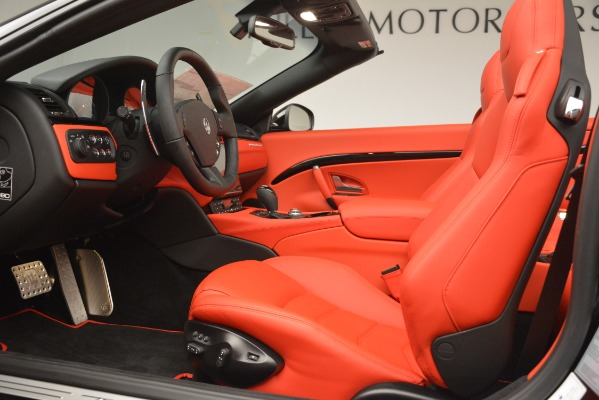New 2018 Maserati GranTurismo Sport Convertible for sale Sold at Rolls-Royce Motor Cars Greenwich in Greenwich CT 06830 26