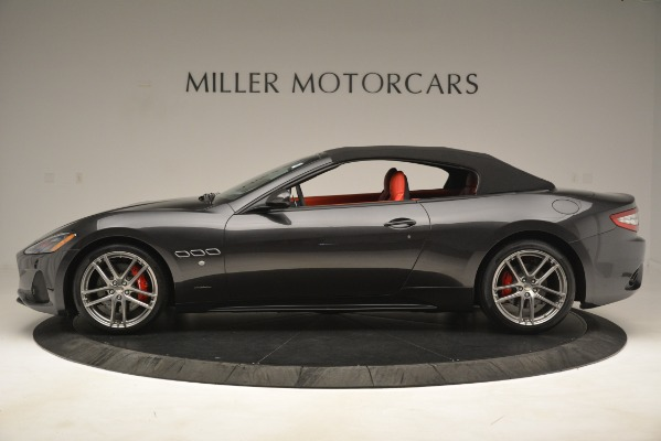 New 2018 Maserati GranTurismo Sport Convertible for sale Sold at Rolls-Royce Motor Cars Greenwich in Greenwich CT 06830 6