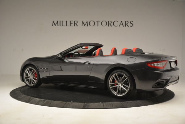 New 2018 Maserati GranTurismo Sport Convertible for sale Sold at Rolls-Royce Motor Cars Greenwich in Greenwich CT 06830 7