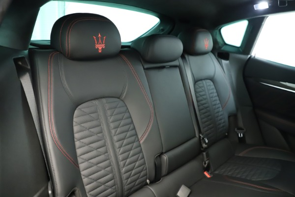 New 2019 Maserati Levante GTS for sale Sold at Rolls-Royce Motor Cars Greenwich in Greenwich CT 06830 26