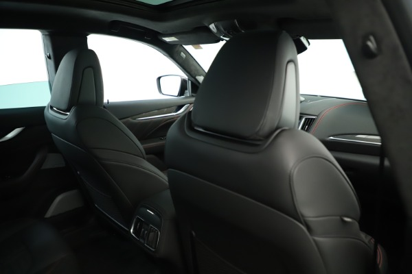 New 2019 Maserati Levante GTS for sale Sold at Rolls-Royce Motor Cars Greenwich in Greenwich CT 06830 28