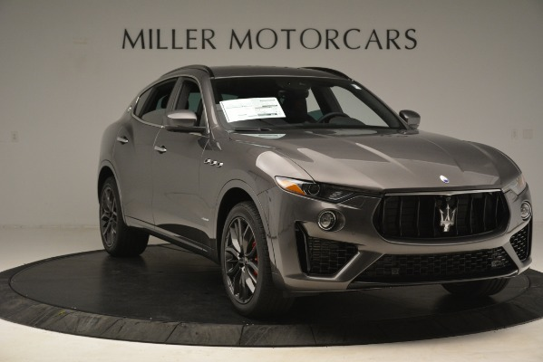 New 2019 Maserati Levante S Q4 GranSport for sale $103,440 at Rolls-Royce Motor Cars Greenwich in Greenwich CT 06830 11