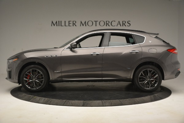 New 2019 Maserati Levante S Q4 GranSport for sale $103,440 at Rolls-Royce Motor Cars Greenwich in Greenwich CT 06830 3
