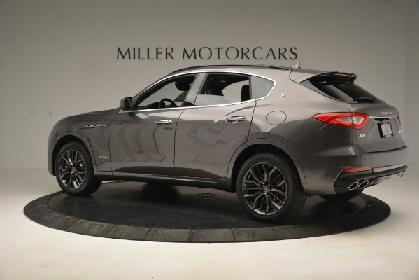 New 2019 Maserati Levante S Q4 GranSport for sale $103,440 at Rolls-Royce Motor Cars Greenwich in Greenwich CT 06830 4