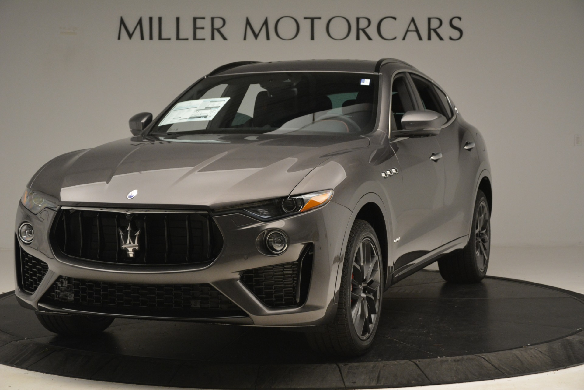 New 2019 Maserati Levante S Q4 GranSport for sale $103,440 at Rolls-Royce Motor Cars Greenwich in Greenwich CT 06830 1