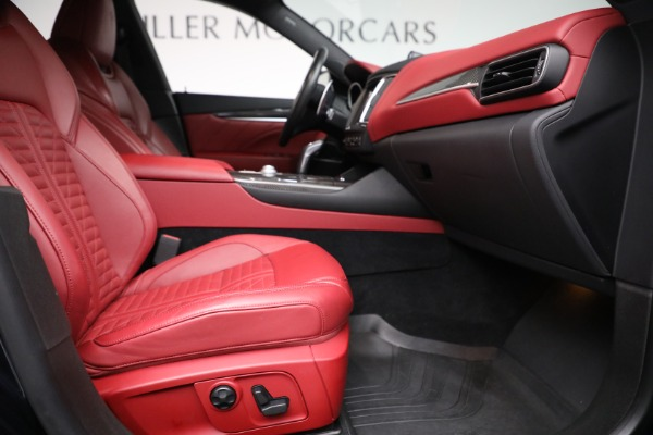 New 2019 Maserati Levante S Q4 GranSport for sale Sold at Rolls-Royce Motor Cars Greenwich in Greenwich CT 06830 22