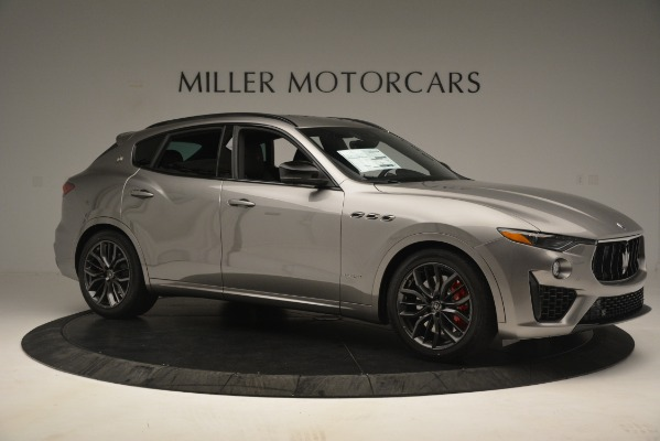 New 2019 Maserati Levante SQ4 GranSport Nerissimo for sale Sold at Rolls-Royce Motor Cars Greenwich in Greenwich CT 06830 10