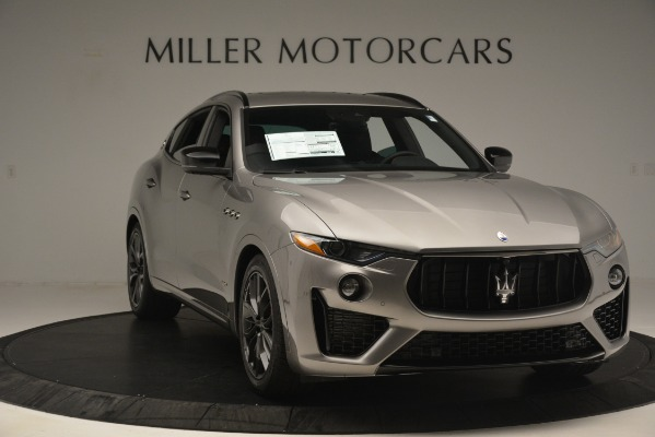 New 2019 Maserati Levante SQ4 GranSport Nerissimo for sale Sold at Rolls-Royce Motor Cars Greenwich in Greenwich CT 06830 11