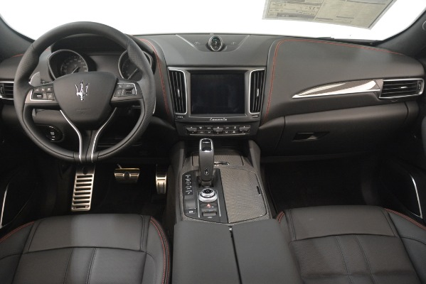 New 2019 Maserati Levante SQ4 GranSport Nerissimo for sale Sold at Rolls-Royce Motor Cars Greenwich in Greenwich CT 06830 16