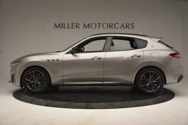 New 2019 Maserati Levante SQ4 GranSport Nerissimo for sale Sold at Rolls-Royce Motor Cars Greenwich in Greenwich CT 06830 3