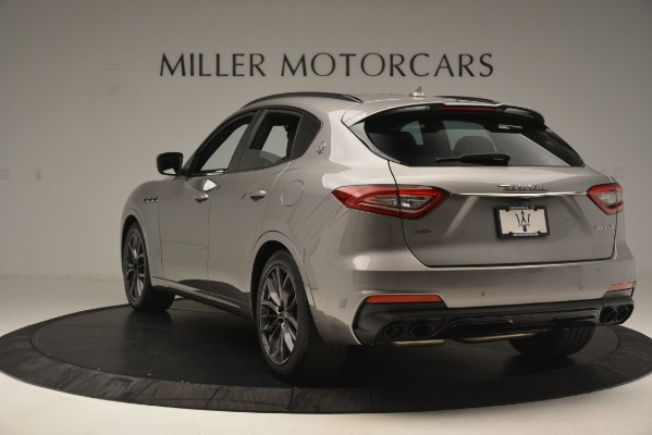 New 2019 Maserati Levante SQ4 GranSport Nerissimo for sale Sold at Rolls-Royce Motor Cars Greenwich in Greenwich CT 06830 5