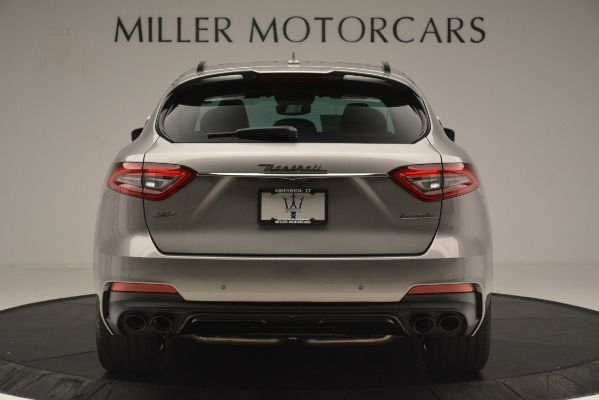 New 2019 Maserati Levante SQ4 GranSport Nerissimo for sale Sold at Rolls-Royce Motor Cars Greenwich in Greenwich CT 06830 6