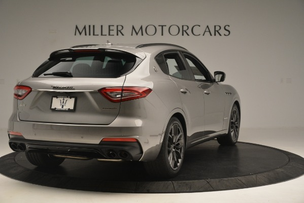 New 2019 Maserati Levante SQ4 GranSport Nerissimo for sale Sold at Rolls-Royce Motor Cars Greenwich in Greenwich CT 06830 7