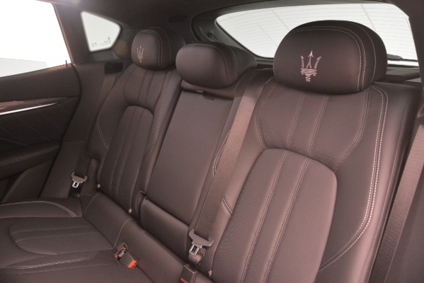 New 2019 Maserati Levante SQ4 GranSport Nerissimo for sale Sold at Rolls-Royce Motor Cars Greenwich in Greenwich CT 06830 18