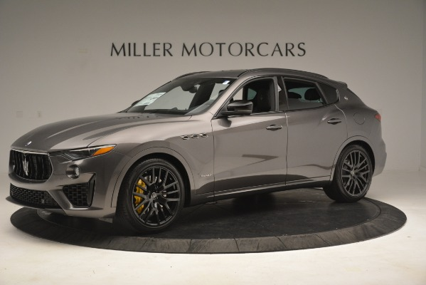 New 2019 Maserati Levante SQ4 GranSport Nerissimo for sale Sold at Rolls-Royce Motor Cars Greenwich in Greenwich CT 06830 2