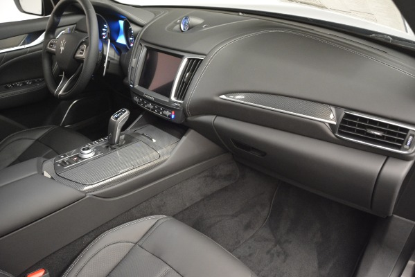 New 2019 Maserati Levante SQ4 GranSport Nerissimo for sale Sold at Rolls-Royce Motor Cars Greenwich in Greenwich CT 06830 22