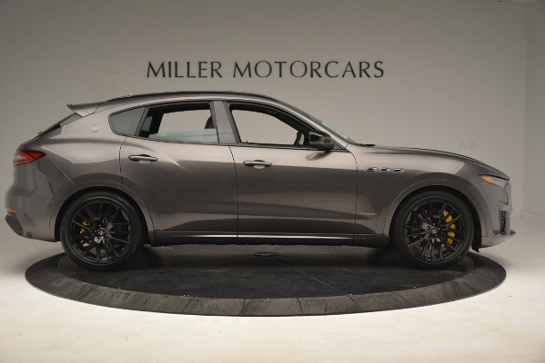 New 2019 Maserati Levante SQ4 GranSport Nerissimo for sale Sold at Rolls-Royce Motor Cars Greenwich in Greenwich CT 06830 9