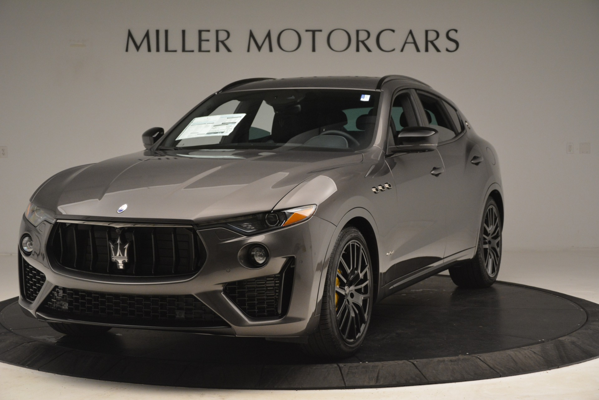 New 2019 Maserati Levante SQ4 GranSport Nerissimo for sale Sold at Rolls-Royce Motor Cars Greenwich in Greenwich CT 06830 1