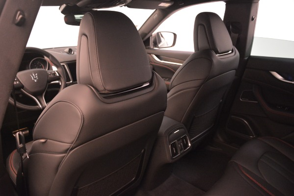 New 2019 Maserati Levante S Q4 GranSport for sale $104,540 at Rolls-Royce Motor Cars Greenwich in Greenwich CT 06830 19