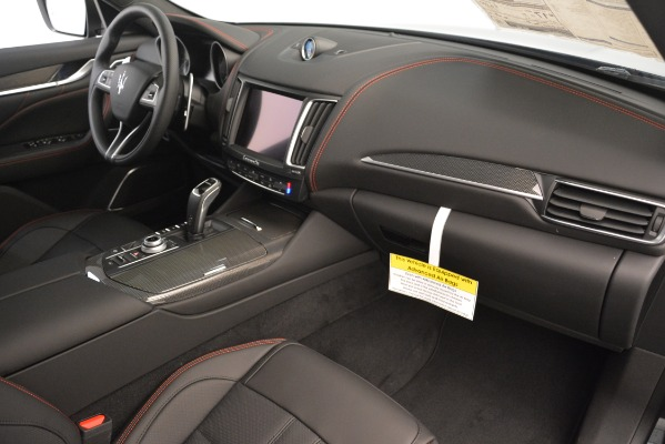New 2019 Maserati Levante S Q4 GranSport for sale $104,540 at Rolls-Royce Motor Cars Greenwich in Greenwich CT 06830 21