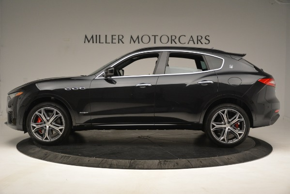 New 2019 Maserati Levante S Q4 GranSport for sale $104,540 at Rolls-Royce Motor Cars Greenwich in Greenwich CT 06830 3