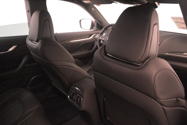New 2019 Maserati Levante S Q4 GranSport for sale Sold at Rolls-Royce Motor Cars Greenwich in Greenwich CT 06830 28