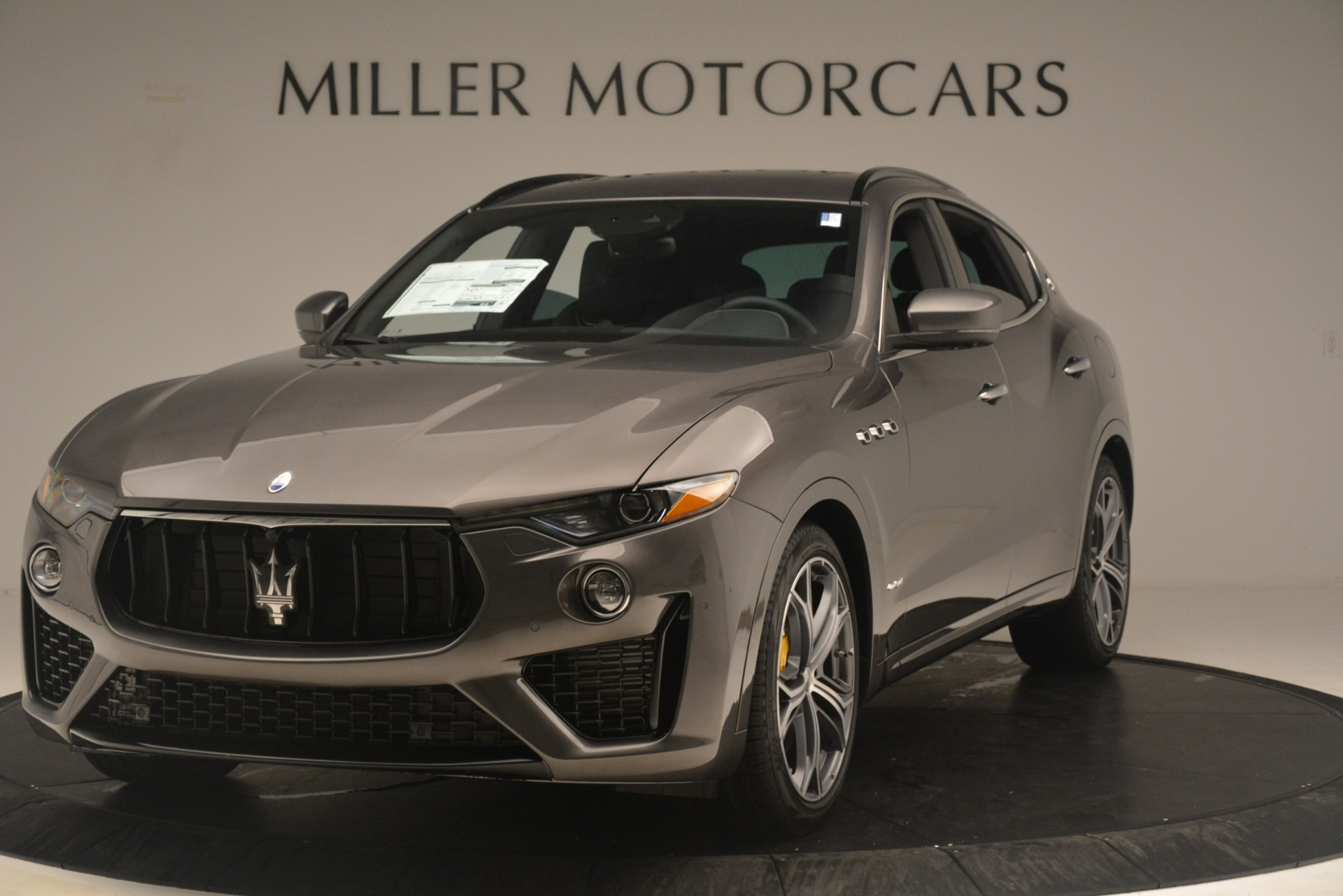 New 2019 Maserati Levante S Q4 GranSport for sale $104,840 at Rolls-Royce Motor Cars Greenwich in Greenwich CT 06830 1