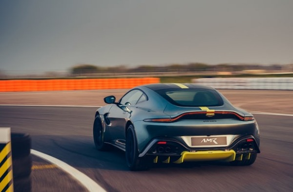 New 2020 Aston Martin Vantage AMR Coupe for sale Call for price at Rolls-Royce Motor Cars Greenwich in Greenwich CT 06830 4