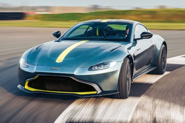 New 2020 Aston Martin Vantage AMR Coupe for sale Call for price at Rolls-Royce Motor Cars Greenwich in Greenwich CT 06830 1