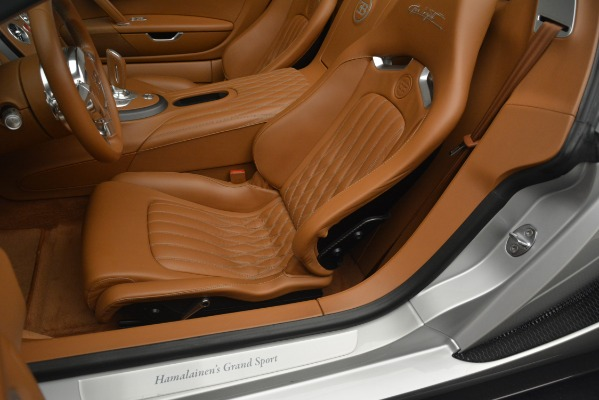 Used 2010 Bugatti Veyron 16.4 Grand Sport for sale Sold at Rolls-Royce Motor Cars Greenwich in Greenwich CT 06830 25