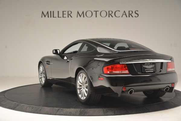 Used 2004 Aston Martin V12 Vanquish for sale Sold at Rolls-Royce Motor Cars Greenwich in Greenwich CT 06830 3