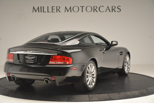 Used 2004 Aston Martin V12 Vanquish for sale Sold at Rolls-Royce Motor Cars Greenwich in Greenwich CT 06830 6
