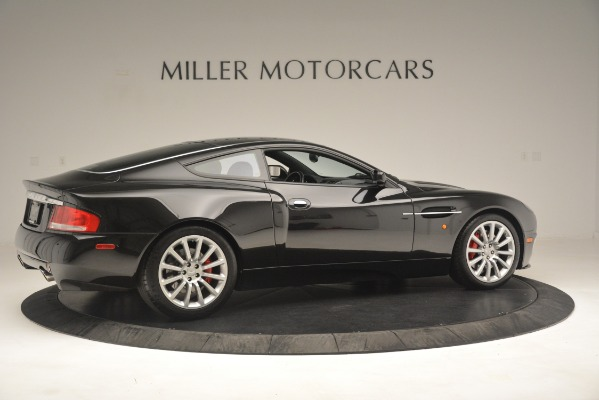 Used 2004 Aston Martin V12 Vanquish for sale Sold at Rolls-Royce Motor Cars Greenwich in Greenwich CT 06830 8