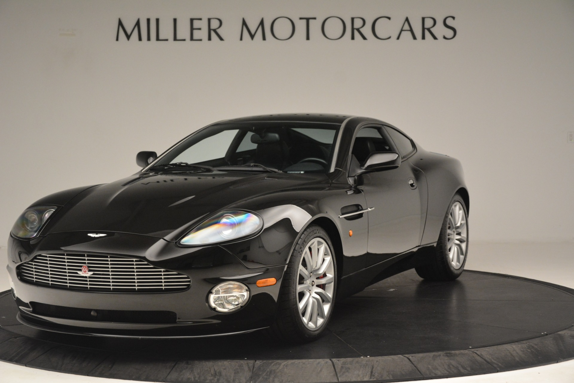Used 2004 Aston Martin V12 Vanquish for sale Sold at Rolls-Royce Motor Cars Greenwich in Greenwich CT 06830 1