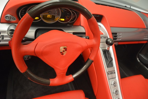 Used 2005 Porsche Carrera GT for sale Sold at Rolls-Royce Motor Cars Greenwich in Greenwich CT 06830 27