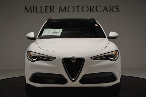 New 2019 Alfa Romeo Stelvio Ti Sport Q4 for sale Sold at Rolls-Royce Motor Cars Greenwich in Greenwich CT 06830 10