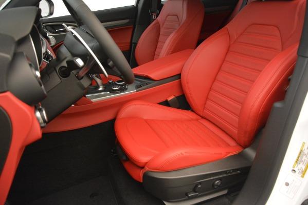 New 2019 Alfa Romeo Stelvio Ti Sport Q4 for sale Sold at Rolls-Royce Motor Cars Greenwich in Greenwich CT 06830 13