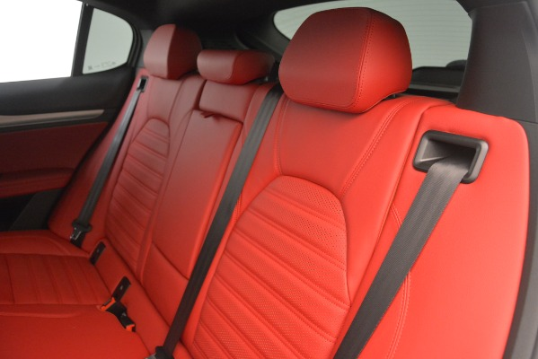 New 2019 Alfa Romeo Stelvio Ti Sport Q4 for sale Sold at Rolls-Royce Motor Cars Greenwich in Greenwich CT 06830 16