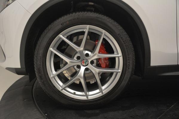 New 2019 Alfa Romeo Stelvio Ti Sport Q4 for sale Sold at Rolls-Royce Motor Cars Greenwich in Greenwich CT 06830 28
