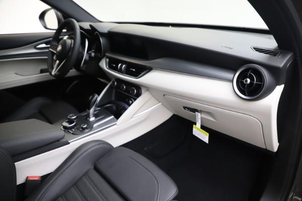 New 2019 Alfa Romeo Stelvio Ti Sport Q4 for sale Sold at Rolls-Royce Motor Cars Greenwich in Greenwich CT 06830 22