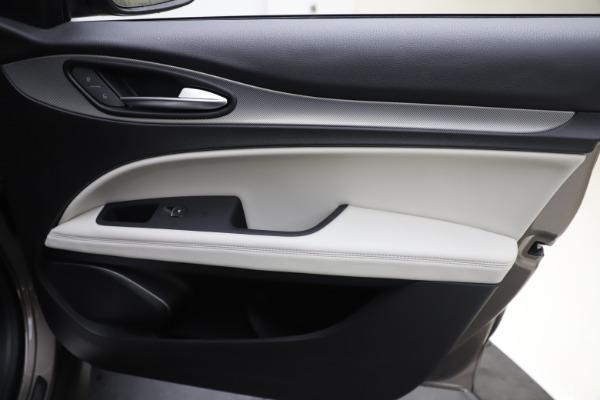 New 2019 Alfa Romeo Stelvio Ti Sport Q4 for sale Sold at Rolls-Royce Motor Cars Greenwich in Greenwich CT 06830 25