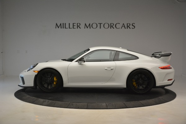 Used 2018 Porsche 911 GT3 for sale Sold at Rolls-Royce Motor Cars Greenwich in Greenwich CT 06830 2