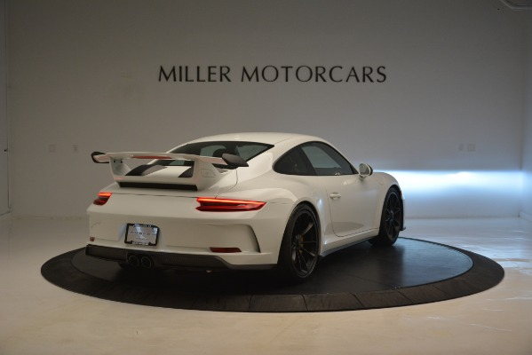 Used 2018 Porsche 911 GT3 for sale Sold at Rolls-Royce Motor Cars Greenwich in Greenwich CT 06830 6